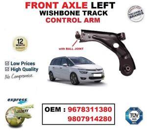FRONT AXLE LEFT WISHBONE ARM for CITROEN C4 Picasso Mk II 1.2 1.6 2.0 2013-/>on