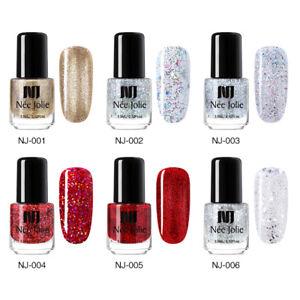 NEE-JOLIE-50-Colors-Nail-Polish-Christmas-Winter-Varnish-Black-Red