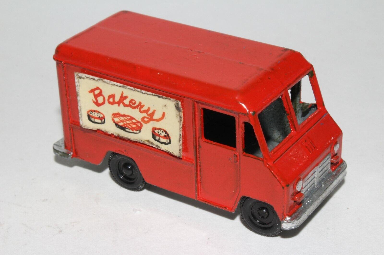 Tootsietoy projootipo, década de 1960 ih Metro van, panadería Entrega Original