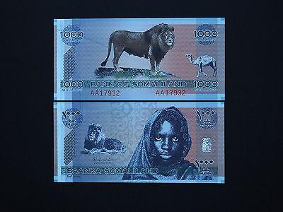 SOMALIA 1000 1,000 SHILLINGS 2006 P CS1 UNC