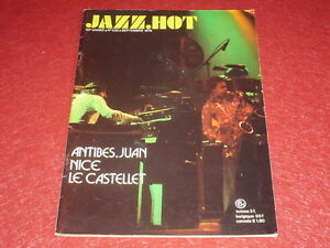 REVUE-JAZZ-HOT-N-330-SEPTEMBRE-1976-ANTIBES-JUAN-NICE-LE-CASTELET