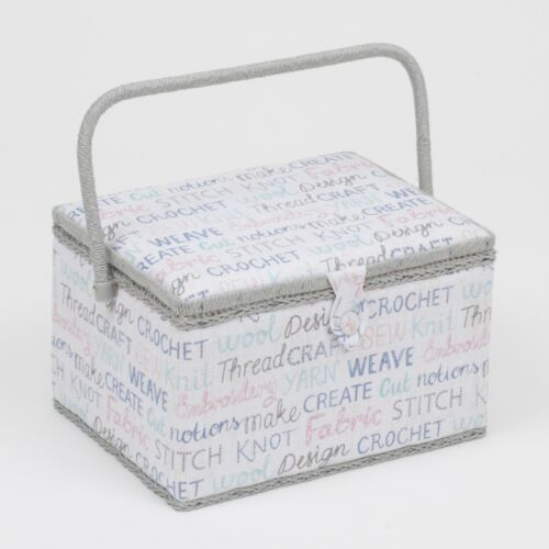 Sewing Basket MRL\439 Large Sewing Box Haby Words