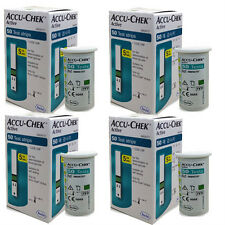 ACCU CHEK Active 200 Test Strips (200Sheets) Tracking number provided_Exp12/2017