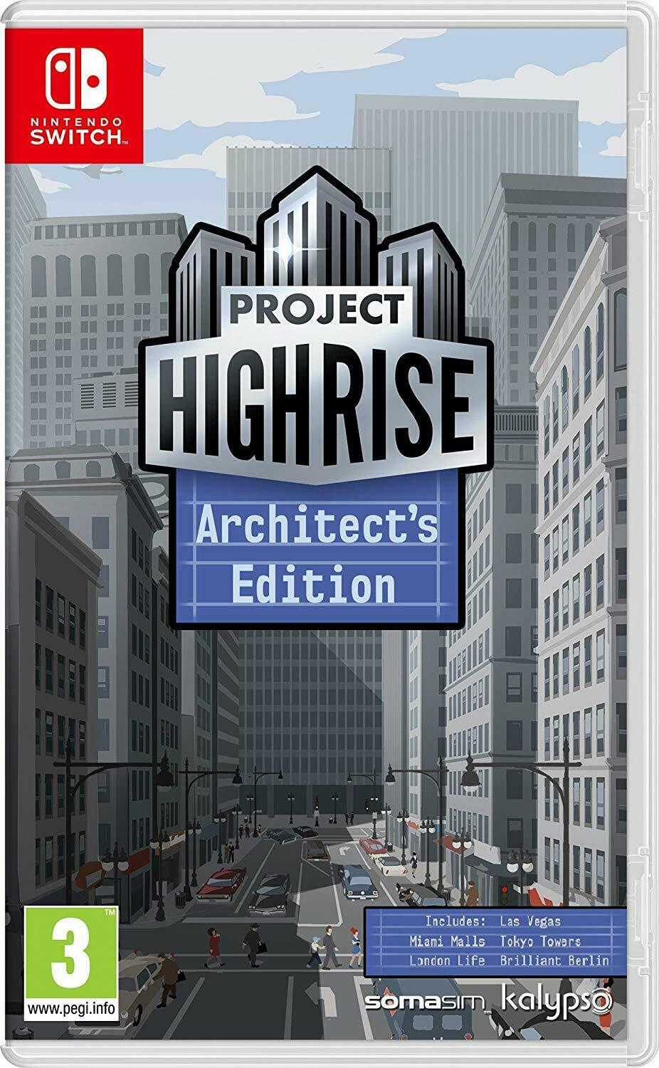 Project Highrise Architects Edition Nintendo Switch NS Skyscraper Simulator  Game