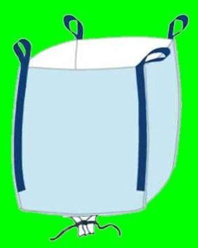 ☀️ 10 Stück Big Bag 95 cm hoch 75 x 96 cm oben offen Bags BIGBAG Fibc 1000kg #21