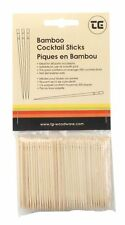 T&G Pk of 200 Bamboo Cocktail Sticks Canape Buffet Mini Skewer Toothpick 02042