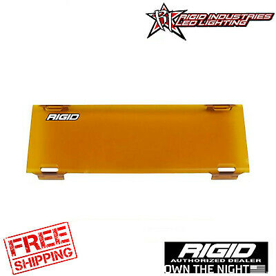 Rigid Industries 10 Inch Light Cover Amber E-Series Pro  110933