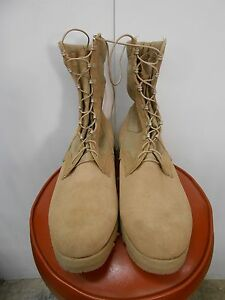 NEW USGI Tan Type 2 Hot Weather Boot size 16 Wide (Altama, Bellville, Bates)