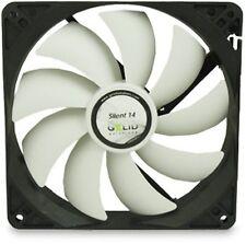 Gelid Solutions Silent 14 140mm Case Fan 1000 RPM, 64 CFM, 21.0 dBA (FN-SX14-10)