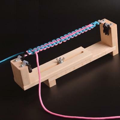 DIY Jig Massivholz Armband Maker mit Fallschirm Schnur Armband Maker Paraco