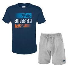 Completo Uomo SUPERGA Cotone T-Shirt Pantaloncino Art.412