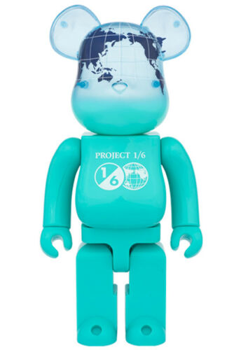 1//6 Limited EARTH OCEAN BLUE 400/% Be@rbrick Unopened