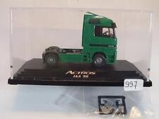 Wiking 1/87 PC mercedes benz actros 1843 tractor de AJA 1996 OVP #997
