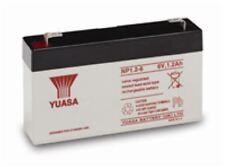 YUASA 6V 1.2AH (1.3AH) Battery Response Alarm Security Solar Alarm & Bell