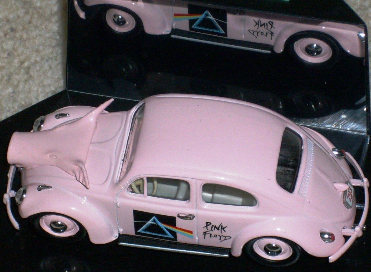 SCARCE VITESSE VW BEETLE PINK FLOYD DARK SIDE OF THE MOON 1 43 LTD EDT MINT