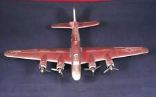 """Awesome 8"""" Danbury Mint Pewter Airplane """"Flying Fortress"""" Military Aircraft"""