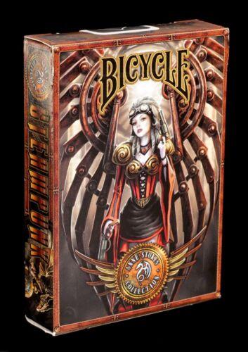 Karten Spiel Kartenspiel Fantasy Steampunk by Anne Stokes Poker Spielkarten