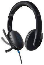 Logitech USB Headset H540 for PC Calls and Music Black (981-000510)