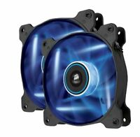 Corsair Air Series Af120 Led Quiet Edition High Airflow Fan Twin Pack Blue, on sale