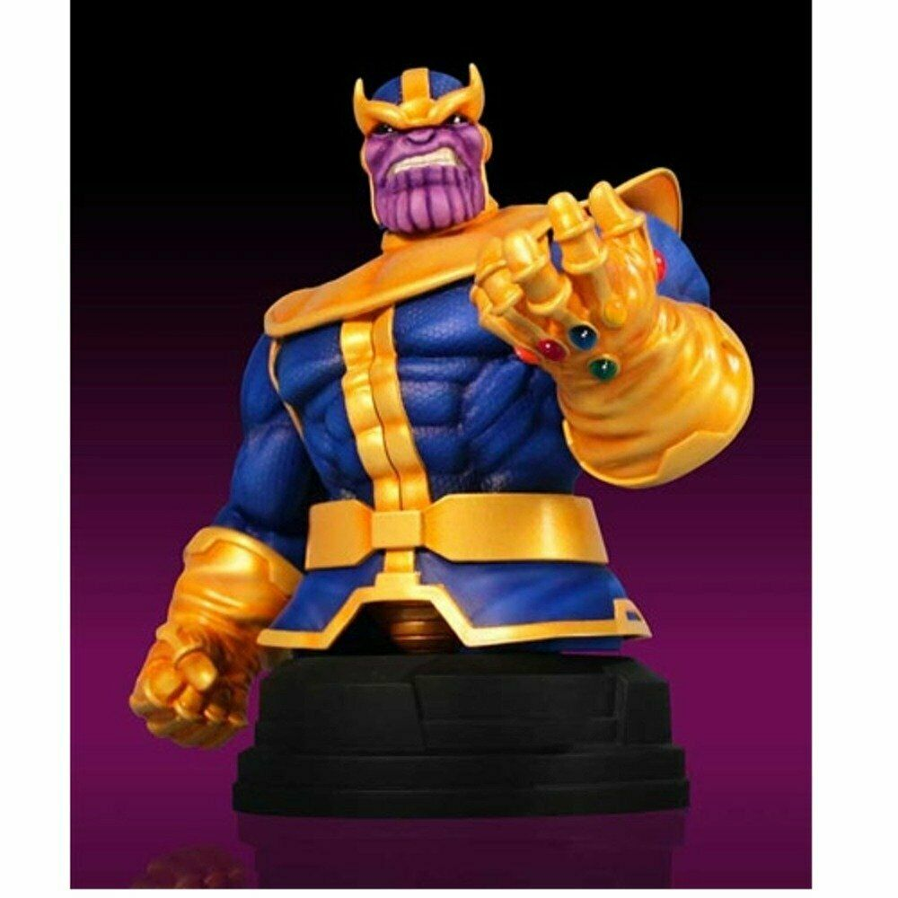 Thanos 2012 San Diego comic-con MARVEL Gentle Giant Mini Busto De Menta en caja 71 500 Exclusivo