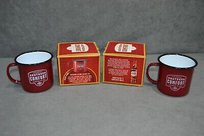 Limited Edition Southern Comfort Category Of One Enamel Camping Steel Mug Cup