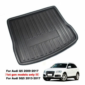 Black Heavy Duty Boot Cover Guard Liner Protector Pet For Audi SQ5 2012 On