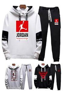 Hot-Mens-Michael-Air-Legend-23-Jordan-Tracksuit-Hoodie-amp-Pants-Men-Sportswear