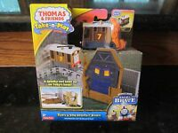 Thomas & Friends Train Set Toby Spooky Barn Portable Railway Tale Brave Toy