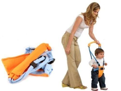 Lauflernhilfe Baby Moby Moon Walk Gehhilfe Lauflerngurt Walk Walker o~