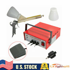 New Professional Powder Coating System Paint Gun Coat Portable Pc03 2 Red 110v