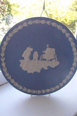 Wedgwood Apollo Moon Landing Plate 1969 Jasperware British