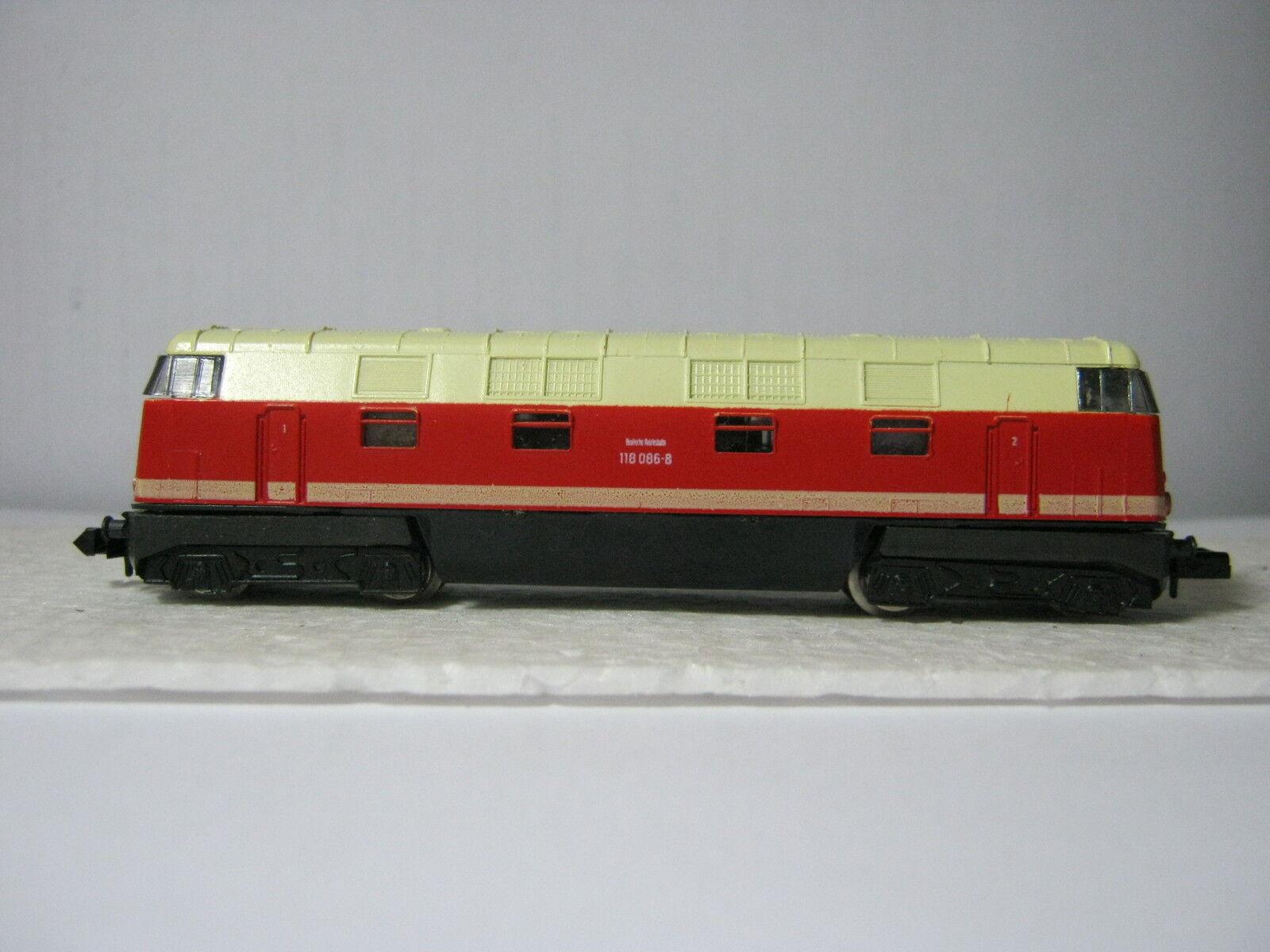 Piko N Diesellok BR 118 086-8 Dr orange Beige (rg ae 42l35)