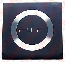 PSP 1000 - Black UMD Door Cover W/ Steel Ring Replacement 1001 Part