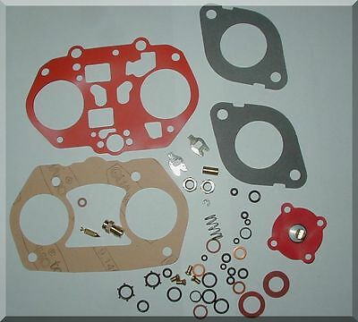 DELLORTO 48 DRLA CARBURETOR REBUILD KIT WITH SUPPLEMENT