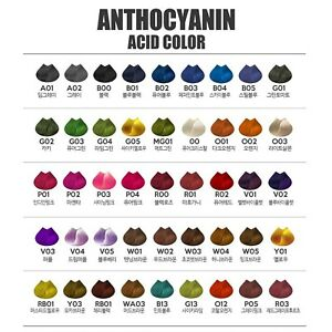 Premium-Semi-Permanent-Anthocyanin-Hair-Manicure-Acid-Self-Dye-45Colours-230g