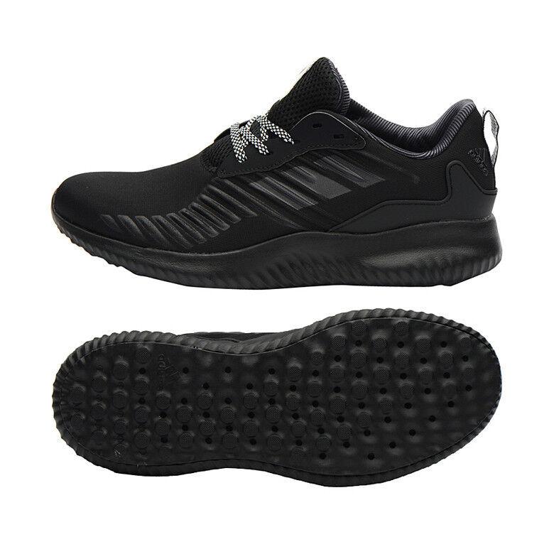89 NIB Men's New Adidas Alpha Bounce RC AlphaBounce Running Shoes Black