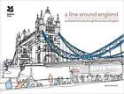 A Line Around England von Simon Harmer (2015, Gebundene Ausgabe)