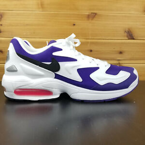 Details about Nike Air Max 2 Light White Court Purple Hyper Pink AO1741 103 Sz 8.5