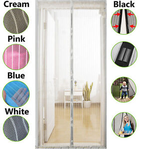 Magic-Magnetic-Mesh-Door-Screen-Gate-Curtain-Insect-Bug-Fly-Mosquito-Guard-Net
