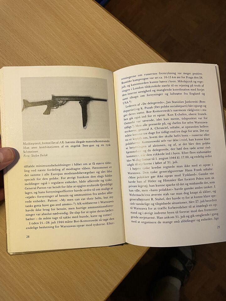 Warszawa opstanden, J.C. Schlichtkrull, emne: historie