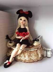 Hot-BJD-resin-pretty-girl-Chloe-free-eyes-Face-Make-Up-Girl-A-Line-Body