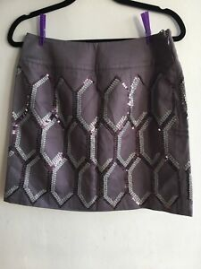 BNWT Limited Collection Marks  Spencer Dusty Mauve Mini skirt With Sequins Uk12 - london, London, United Kingdom - BNWT Limited Collection Marks  Spencer Dusty Mauve Mini skirt With Sequins Uk12 - london, London, United Kingdom