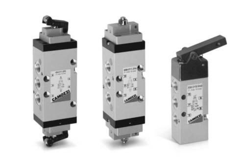 Mech Sensor Válvula prensa gota Palanca De Primavera 5//2-1//8 Camozzi 358-D15-9A5