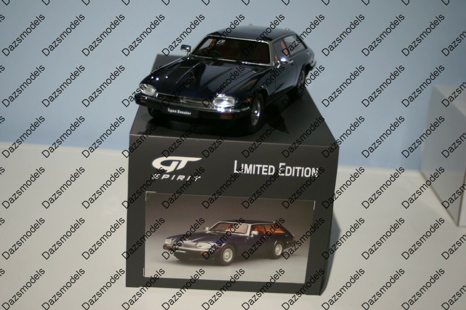 GT Spirit Jaguar XJS Lynx eventer Westminster blu 1 18 Resina GT788