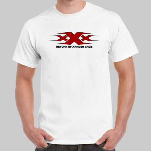XXX Logo Return of Xander Cage T-shirt USA Size