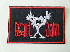 PEARL JAM PATCH Alive Embroidered Woven Iron On Hard Rock Grunge Heavy Metal NEW