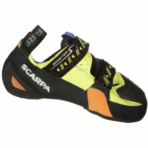 Scarpa Booster S Climbing Shoe Yellow 38.5