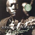 Live at Newport by John Lee Hooker (CD, May-2002, Vanguard)