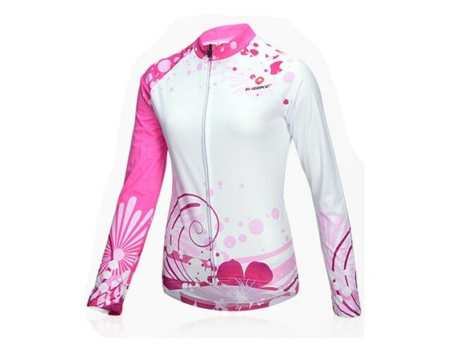 INBIKE Cycling Bike Long Sleeves Jersey Outdoor Sports  *Top Only* IA382 LJ