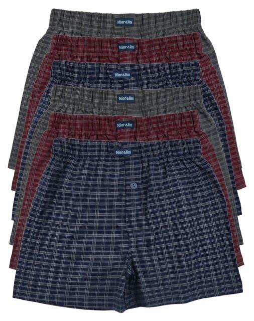 ░ 6 Baumwoll Boxershort  Shorts Boxer Pants Hipster Pant Herren Boxershorts Slip